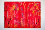 DSC_0261Painting, mixed media on canvas, 2011, 90 x 120 x 5 cm