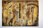 DSC_0265 Painting, mixed media on canvas, 2011, 90 x 120 x 5 cm