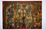 DSC_0287Painting, mixed media on canvas, 2011, 90 x 120 x 5 cm