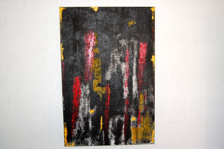 DSC_0013 Painting, mixed media on canvas, 2012, 120 x 80 x 5 cm