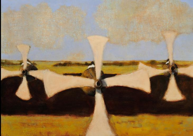 Overland #3, oil on canvas, 36 x 50