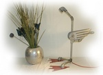 ostrich pipes lighting fixture