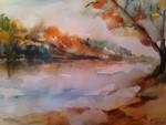 Herbst an der Theiss