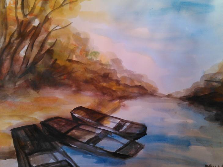 Herbst an der Theiss II.