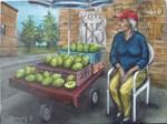 Avocado seller