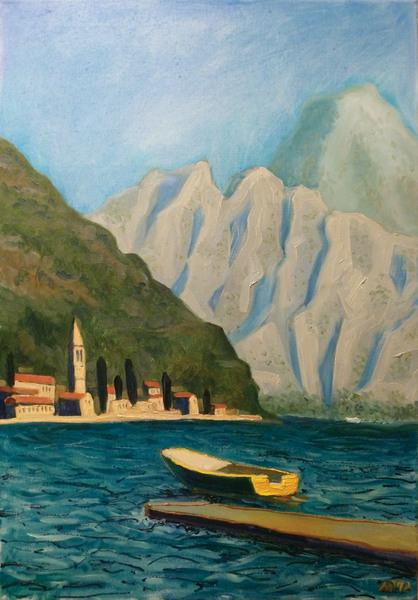 Kotor Bay.