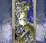 Dans la chambre bleue