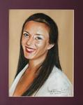 Portrait of my daughter Olga