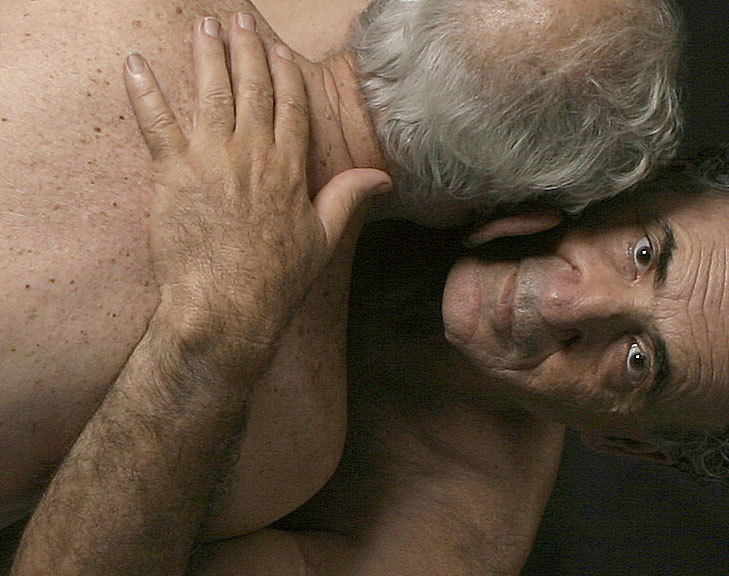 love between two older gay couple homosexual art photography
