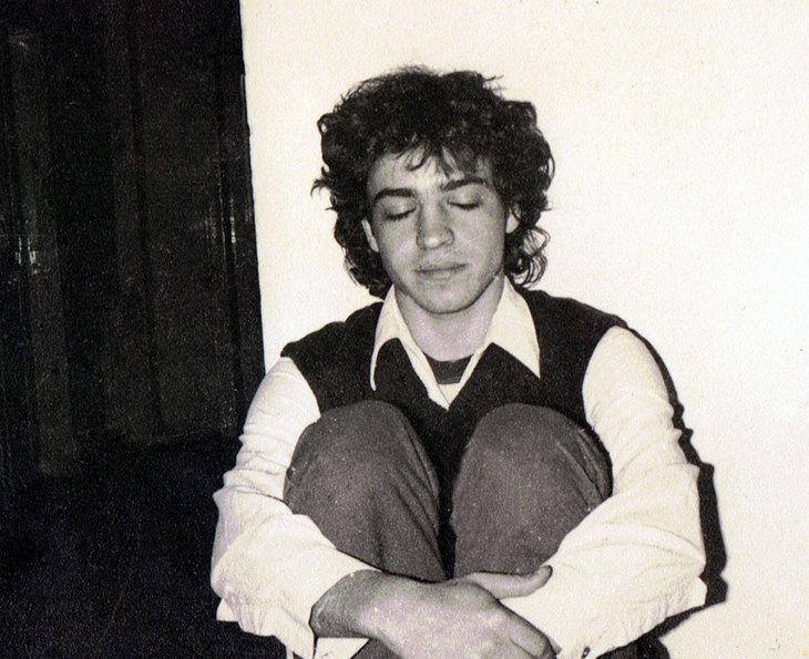 raphael perez the painter self portrait when i was young man