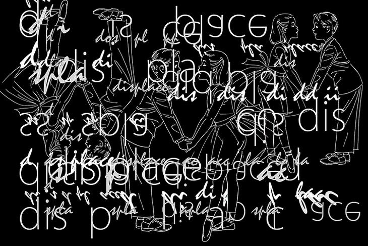 Language Image: Displace