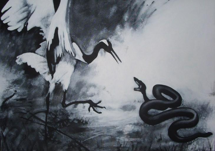La Grù e il serpente