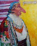 Huculska Przodkini Johanson z Kolomya, painting
