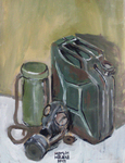 Jerry can with gasmask