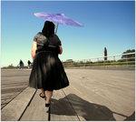 Lady on Boardwalk