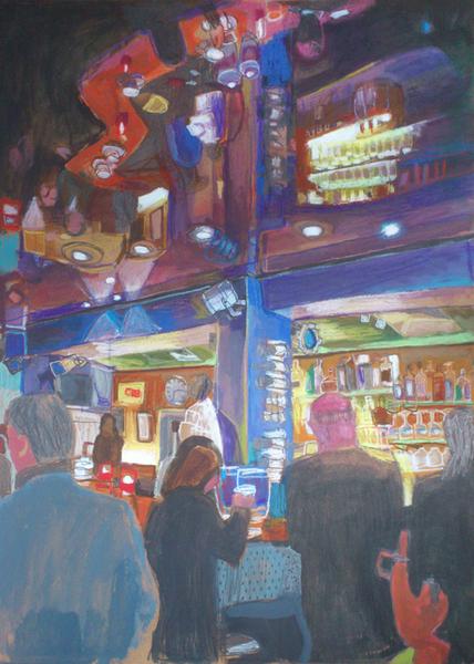 Spiegelung Toms Bar