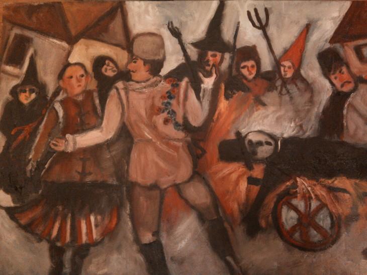 Winterverbrennung (Ungarn-Volksfest)