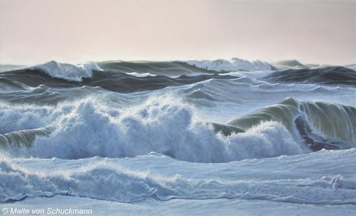 Stormy sea I.