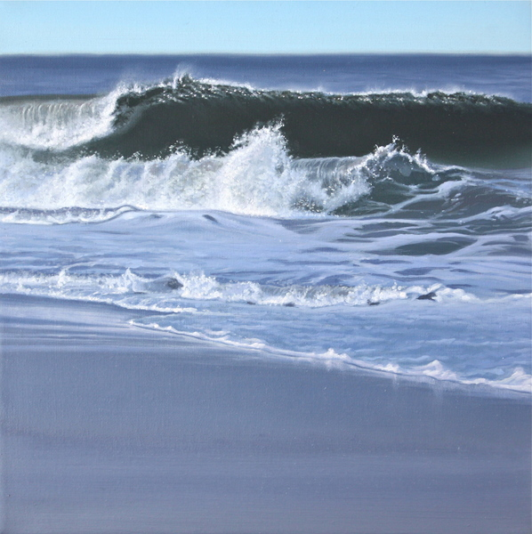 Waves in the morning light