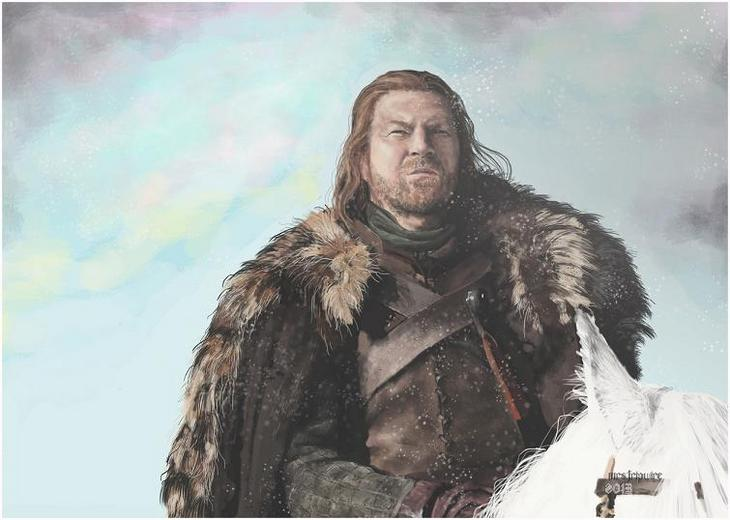 ned stark / game of thrones tribute